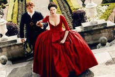 *NEW* UHQ untagged still of Jamie and Claire in Season 2