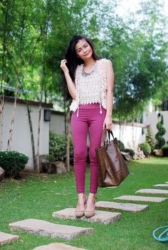 Vern Enciso in a lace top from SOUL Lifestyle :)