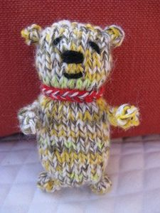 I Collect Teddy Bears....I wish someone would knit this for me!