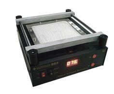 95.00$  Buy here - http://ali3ya.worldwells.pw/go.php?t=32604154672 - Free shipping  soldering station 853 Gordak ESD BGA rework station IR PCB preheater soldering machine 95.00$