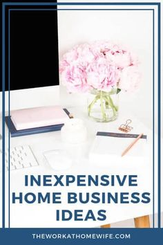 Not all home businesses require several thousand dollars in initial investment. These 15 home business ideas have low startup costs. #homebusiness #workfromhome