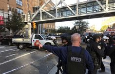 Six Dead, Nine Hurt As Truck Barrels Down Manhattan Bike Path; Police Shoot & Arrest Driver