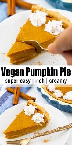 Vegan Lunch Recipes, Vegan Breakfast Recipes, Delicious Vegan Recipes, Vegan Sweets, Dairy Free Recipes, Vegan Desserts, Brunch Recipes, Vegan Food, Yummy Food