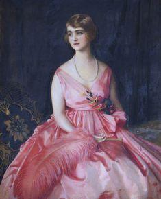 Violet Miriam Clay (1895–1978), Lady Vernon, 1920 ~ Frank Cadogan Cowper (1877-1958)