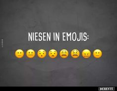Niesen in Emojis. Niesen in Emojis. Niesen in Emojis. Funny Shit, Funny Jokes, Hilarious, Jokes In Hindi, Lol, Twisted Humor, Funny Facts, Emoticon, I Laughed
