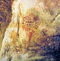 Deserto grutas Thitundo-Hulo   rupestres . Distrito de Moçâmedes. Angola.