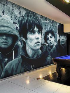 Relive The Glory Days Of The Stone Roses Everyday With This Wallpaper Wall  Mural. It Part 59