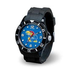 Kansas Jayhawks NCAA Spirit Series Mens Watch