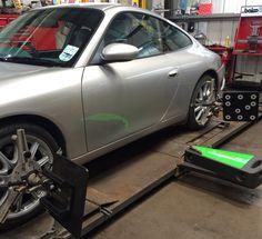 Porsche 911 check and adjustment Wheel Alignment, Porsche 911, Edinburgh, Centre, 3d, Check