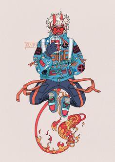 Arte Cyberpunk, Japon Illustration, Samurai Art, Wow Art, Character Design Inspiration, Matisse, Japanese Art, Cool Drawings, Art Sketches