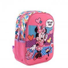 Ghiozdan mic 3D Minnie Backpacks, Disney, Bags, Fashion, Character, Handbags, Moda, Fashion Styles, Backpack