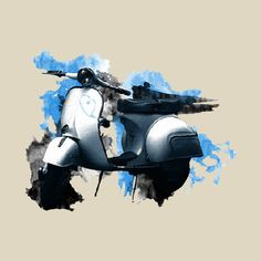 Vespa by Freshtees on Etsy, €15.00