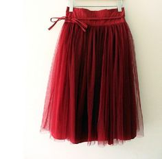 Holiday Skirt..love it. I think I would want this in a Gold. So pretty!