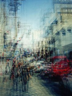 Multiple exposures of Japan by Stephanie Jung.