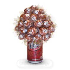 Whatever Is Sweet- canned candy bouquet
