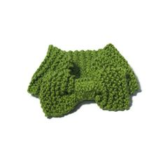 Hand Knit Headband/Ear Warmer  Pistachio Green by ArlenesBoutique, $22.95