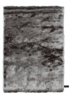 Hochflor Teppich Whisper Grau
