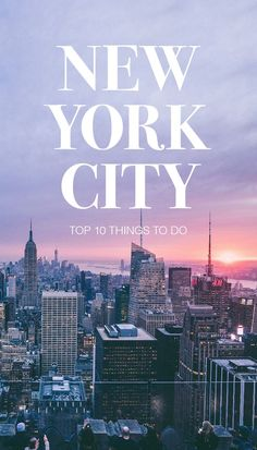 Discover the best things to do in New York City, including Times Square, Central Park, and the Empire State Building as well as a few local hotspots.