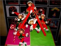 Duende Navideño con moldes gratuitos - YouTube Pasta Flexible, Lily, Christmas Tree, Holiday Decor, Videos, Youtube, Home Decor, Craft Tutorials, Christmas Crafts