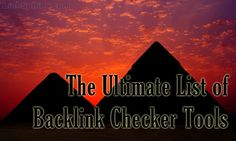 The list of backlink checkers contains all SEO tools (including online services, API's and desktop software) to search and analyze backlinks known at the moment.