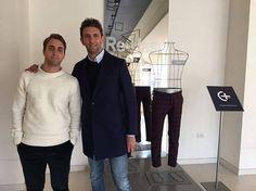 Our guest Paolo Tagliavento Re-HasH #madeinitaly #fashionandsport