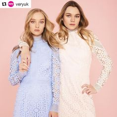 Twice the fun- Immy and Maddi Waterhouse looking beautiful in the V by Very SS17 Campaign 💕👯 @veryuk @immywaterhouse @maddiwaterhouse #vbyvery #regram #ss17 #spring #summer #campaign #leeloves