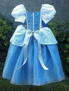 Cinderella princess dress by HappyLittleRy on Etsy Disney Princess Dresses, Cinderella Dresses, Princess Costumes, Disney Dresses, Disney Costumes, Girls Dresses, Cinderella Princess, Cinderella Costume, Princess Cut