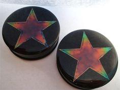 Mood Plugs w/ Star (2 gauge - 2 inch)