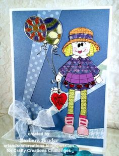 Art and Soul Creations: Crafty Creations Challenges