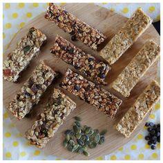 Healthy Desserts, Healthy Recipes, Salad Bar, Snack Bar, Granola Bars, School Snacks, Chocolate Lovers, Healthy Eating, Healthy Food