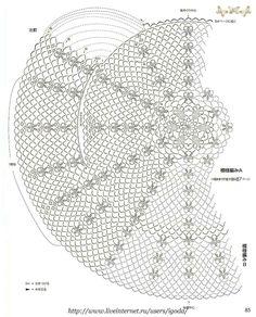 Delicado circular japones | Mi Rincon de Crochet