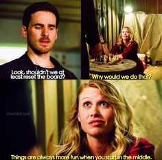 Things are always more fun when you start in the middle / Hook & Alice / 7.06