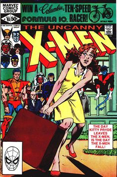 Back to title selection: Comics U: Uncanny X-Men Vol 1 Continues from X-Men Vol 1# 141