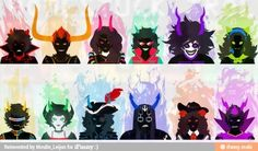Patron troll formula your birthday ex 4/13 Add digits 4+1+3=8. John's patron troll is Vriska. If greater than 12 as in this ex divide total over 12 17/12= 1.416 If 1.5 or lower your patron is Aradia 1.6-2 is Tavros    The rest follow this logic 1=Aires 2=Taurus 3=Gemini 4=Cancer 5=Leo 6=Virgo 7=Libra 8=Scorpio 9=Sagittarius 10=Capricorn 11=Aquarius 12=Pieces