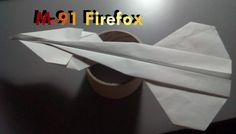 Avión de papel M-91 Firefox