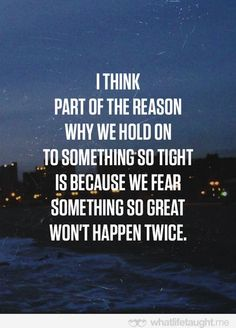 We hold on