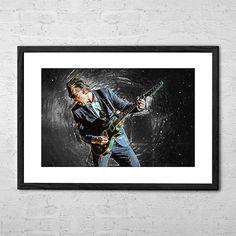 Joe Bonamassa  Digital Painting  Rock Poster  Rock and Roll
