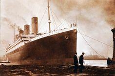 Salen a la luz imágenes inéditas del Titanic