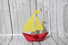 Where The Wild Things Are Paper Sailboat Made to Order by Msapple, $4.00