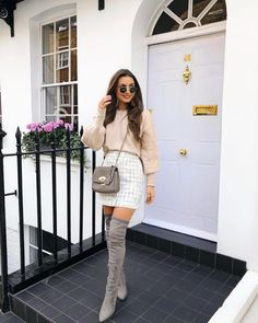 Fashion outfits ideas chic and cute outfits what to wear casual fashion ideas Paris Outfits, Preppy Outfits, Winter Fashion Outfits, Mode Outfits, Girly Outfits, Cute Casual Outfits, Look Fashion, Stylish Outfits, Spring Outfits