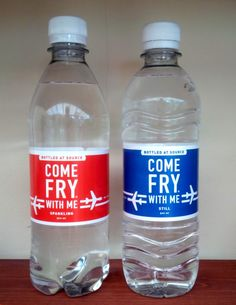 having an own labelled water bottle is often a requirement for any hotels resorts