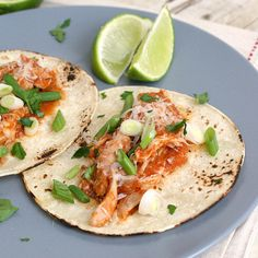 Chicken Tinga Tacos by Traceys Culinary Adventures, via Flickr