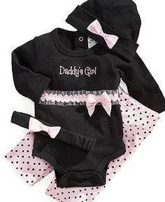 Daddy/'s Litle Diva Newborn Baby Girls Boys Hoodie Present