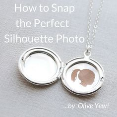 Learn how to take the perfect picture for Olive Yew's Silhouette Jewelry Collection. #silhouettenecklace #blog