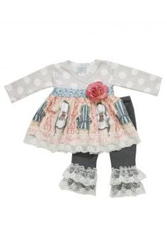 Fall 2013 Preorder :: Maddie Jewel Set- Haute Baby - Little girls boutique, baby girl clothes, toddler clothing, kids accessories.   Tutu Spoiled