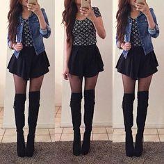 bucaneras y jeans