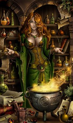 Magick Wicca Witch Witchcraft: Making Magick. Fantasy Witch, Fantasy Girl, Foto Fantasy, Chica Fantasy, Fantasy Art Women, Witch Art, Dark Fantasy Art, Fantasy Artwork, Dark Art