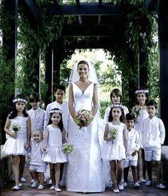 manualidades creativas Vintage: Vestidos para pajes de boda, Teresa & Leticia