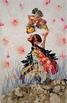 "Wangechi Mutu ""Misguided Little Unforgivable Hierarchies"" 2005"