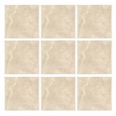 Botticino Tumbled Marble 4x4 Wall and Floor Tile  from http://AllMarbleTiles.com